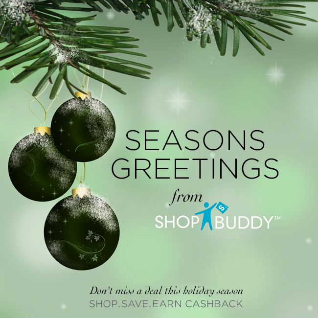 shopbuddy season greetingd